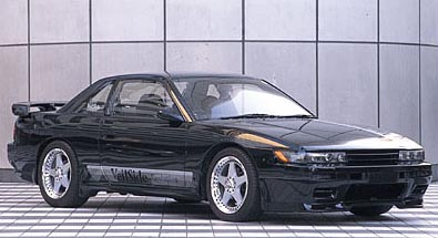 VeilSide 1989-1994 Nissan S13 JDM Silvia SIL80 Coupe Convertible E-I Model Side Skirts (FRP)