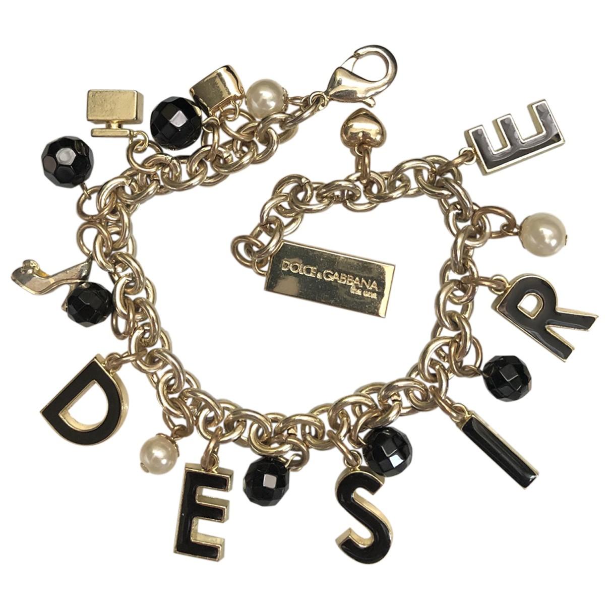 Dolce & Gabbana \N Armband in  Gold Metall