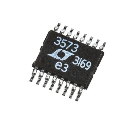 Analog Devices LT3573EMSE#PBF, 1-Channel, Flyback DC-DC Converter 16-Pin, MSOP