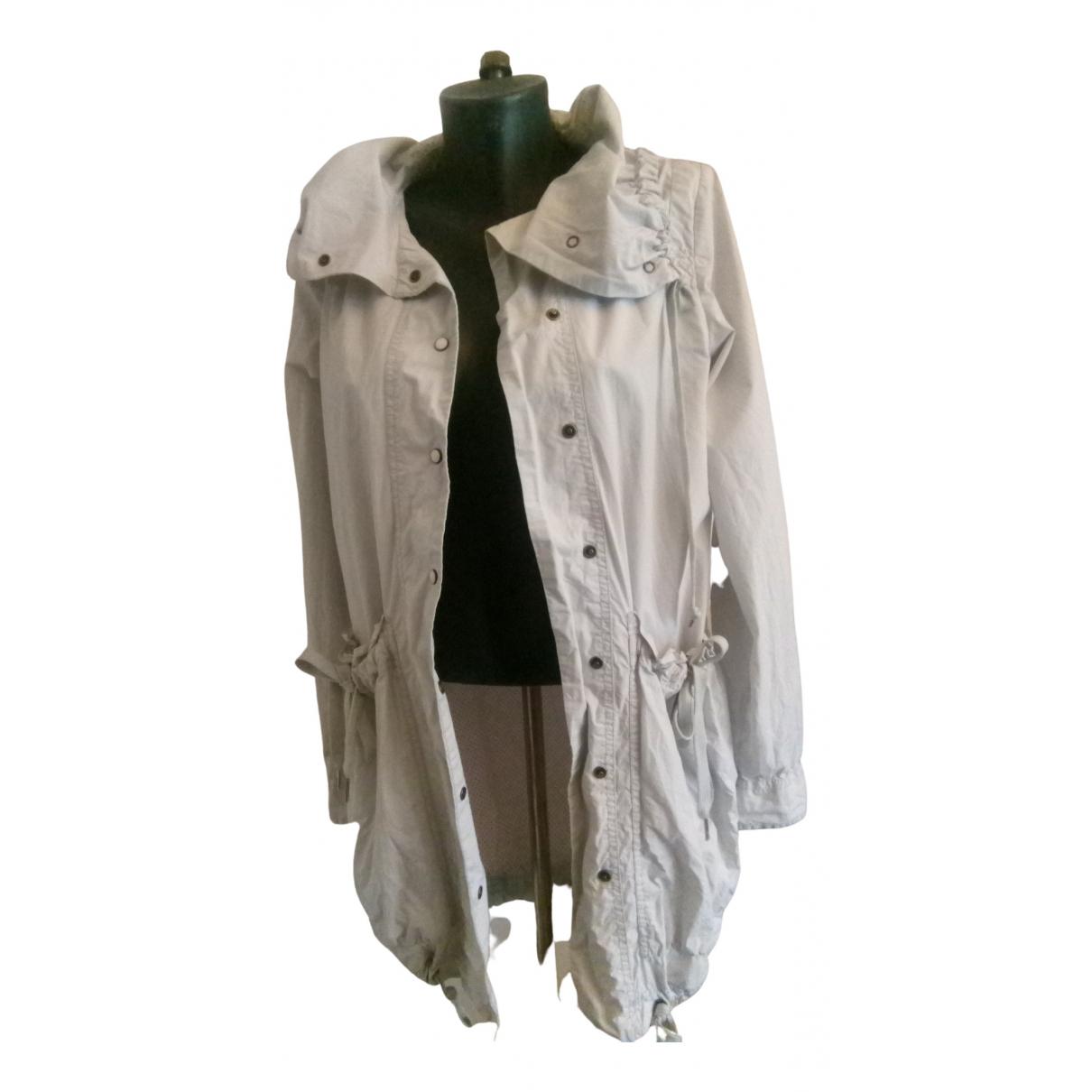 Tommy Hilfiger - Veste   pour femme en coton - gris