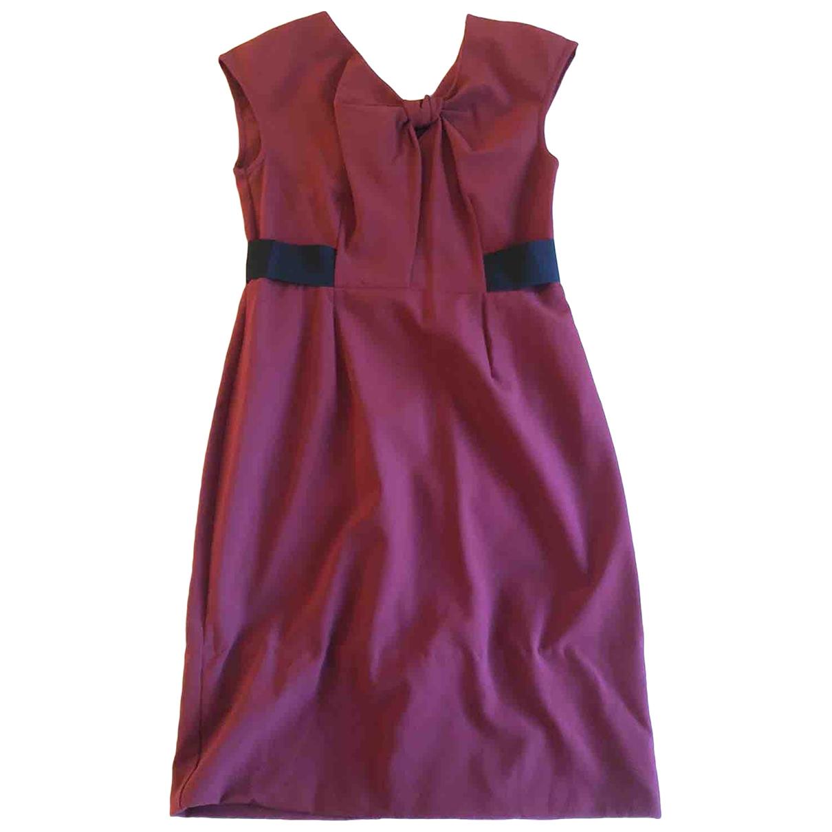 Asos - Robe   pour femme - bordeaux