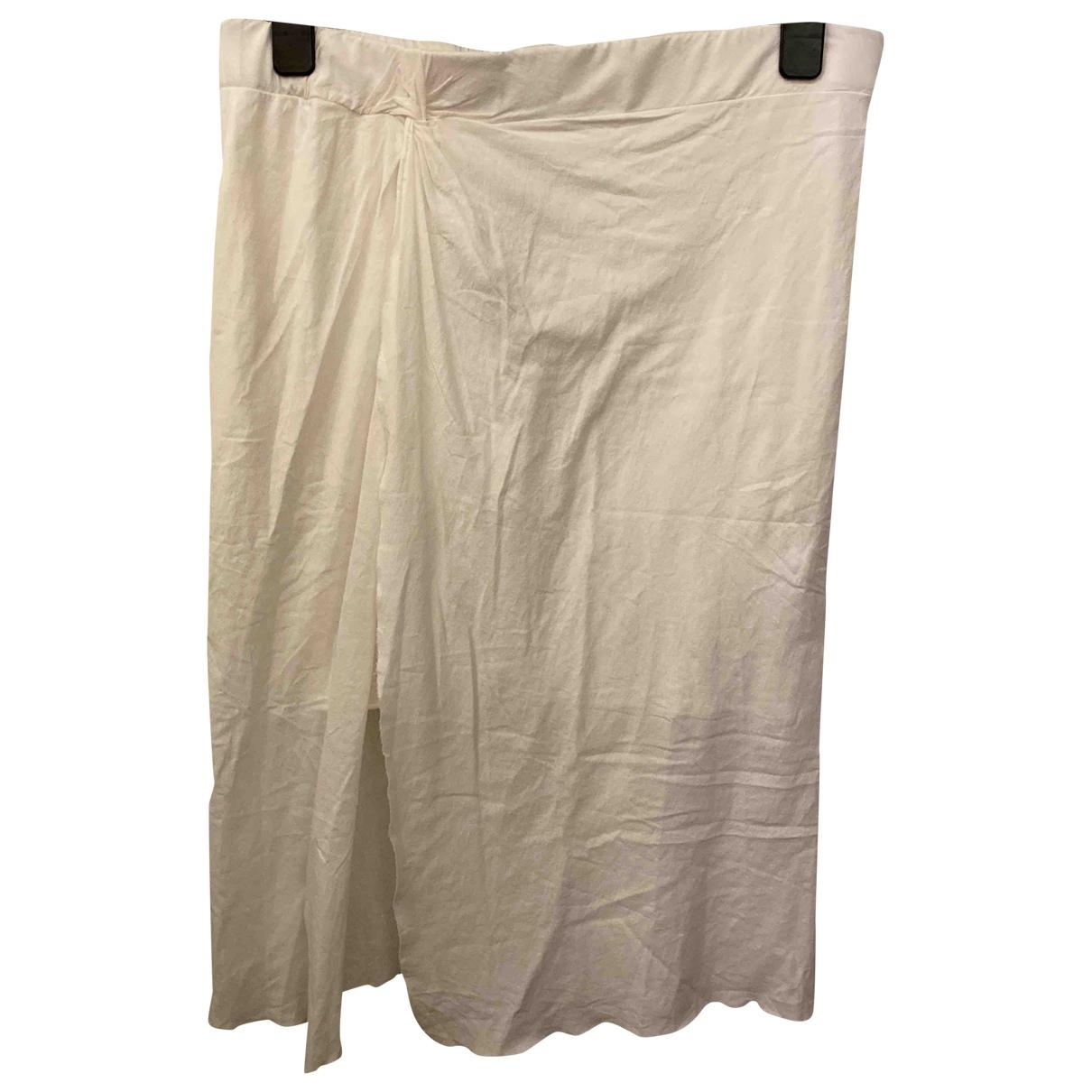 All Saints \N White Cotton skirt for Women 40 FR