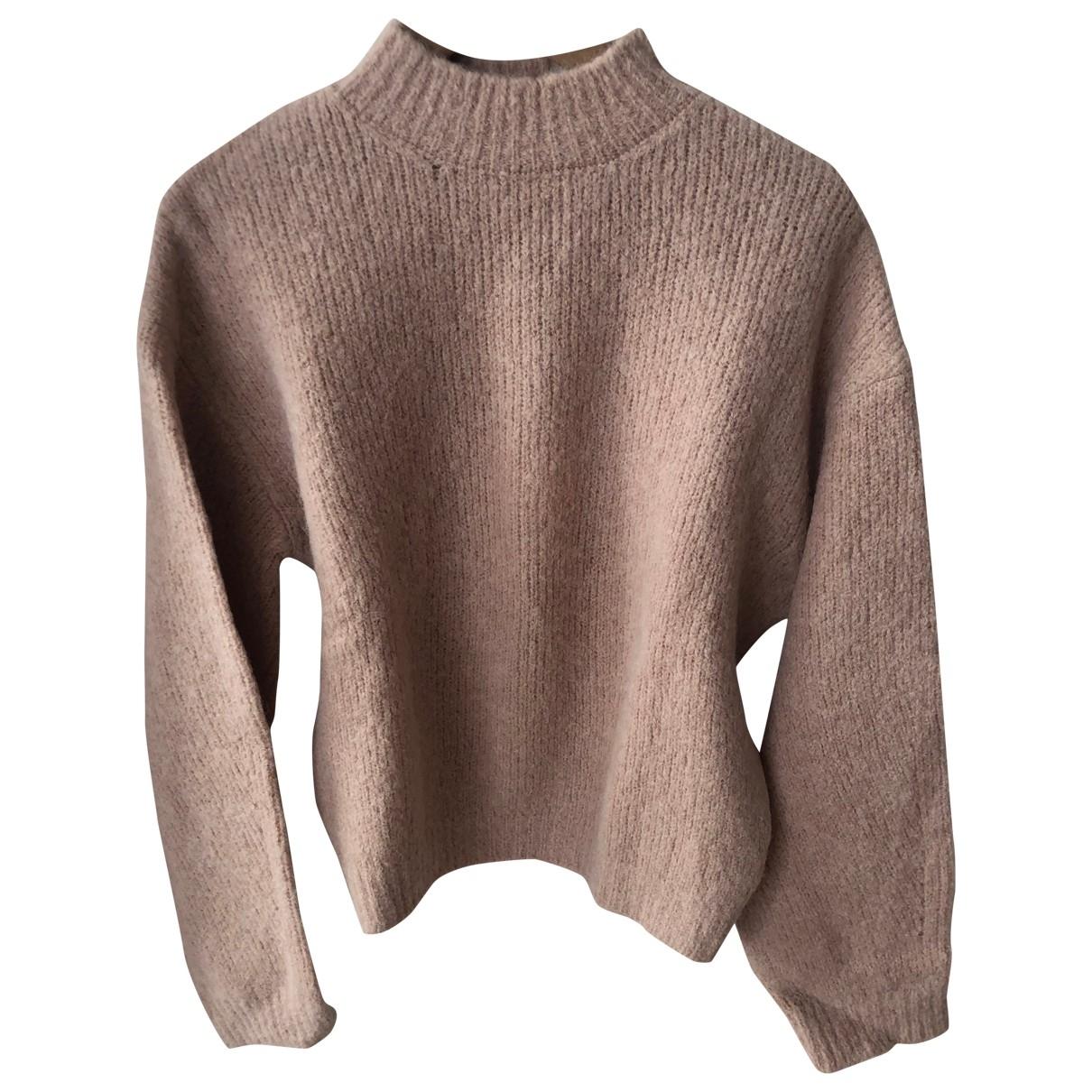Nanushka \N Pullover in  Rosa Wolle