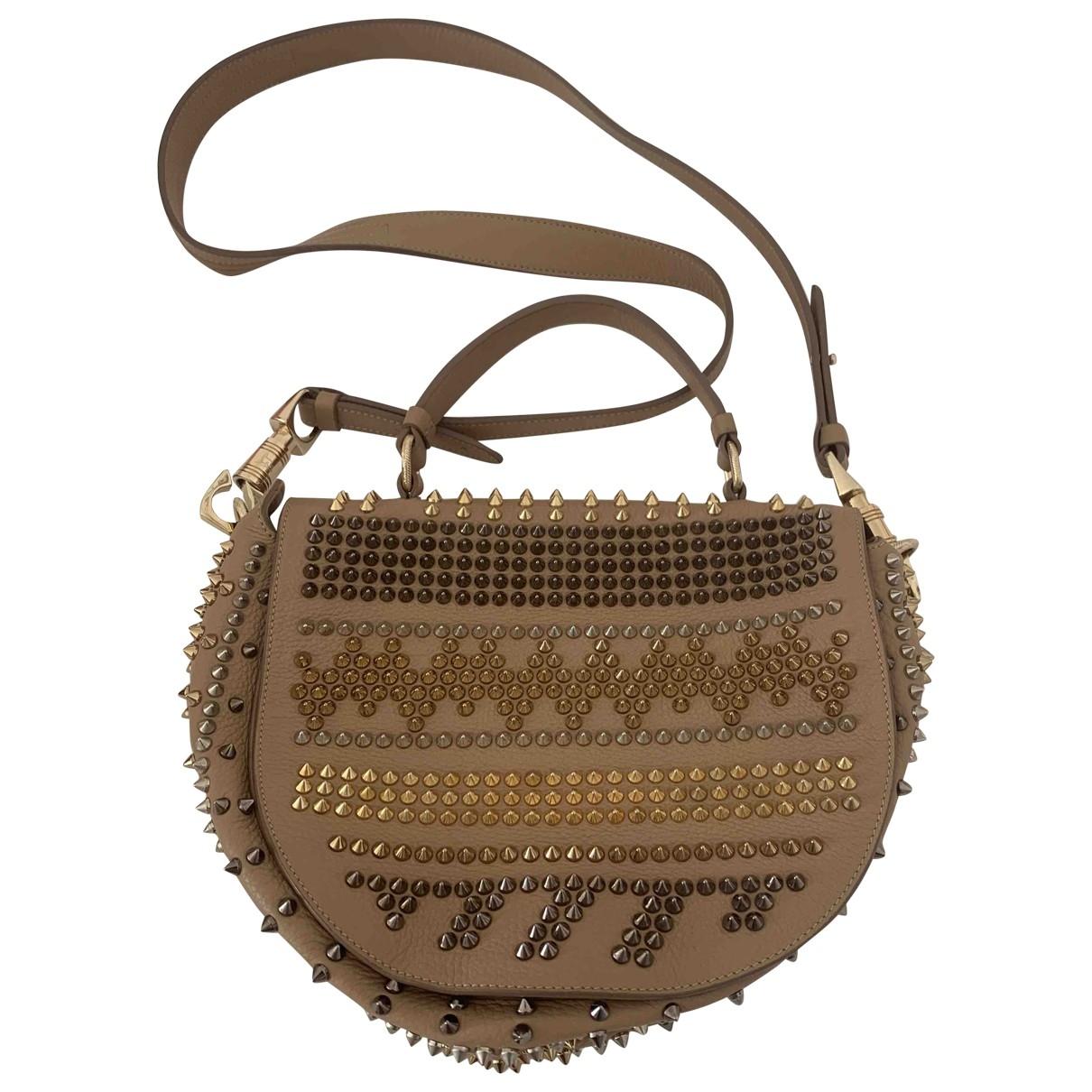 Christian Louboutin \N Beige Leather handbag for Women \N