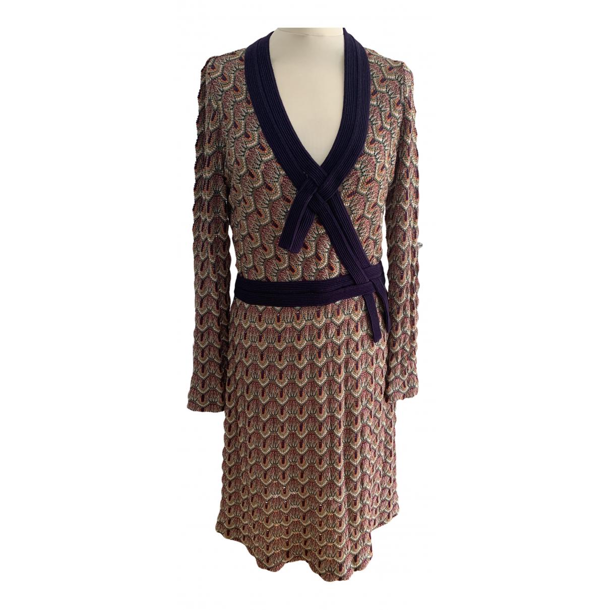 Missoni - Robe   pour femme en laine - multicolore