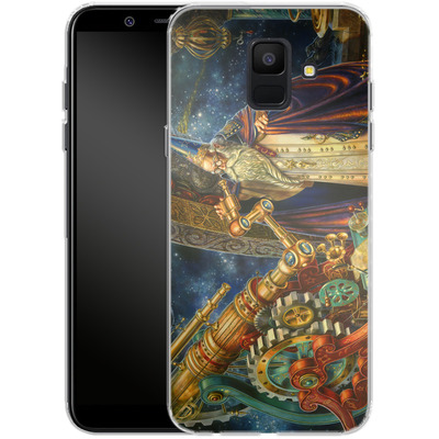 Samsung Galaxy A6 Silikon Handyhuelle - Myles Pinkeney - The Astronomer von TATE and CO