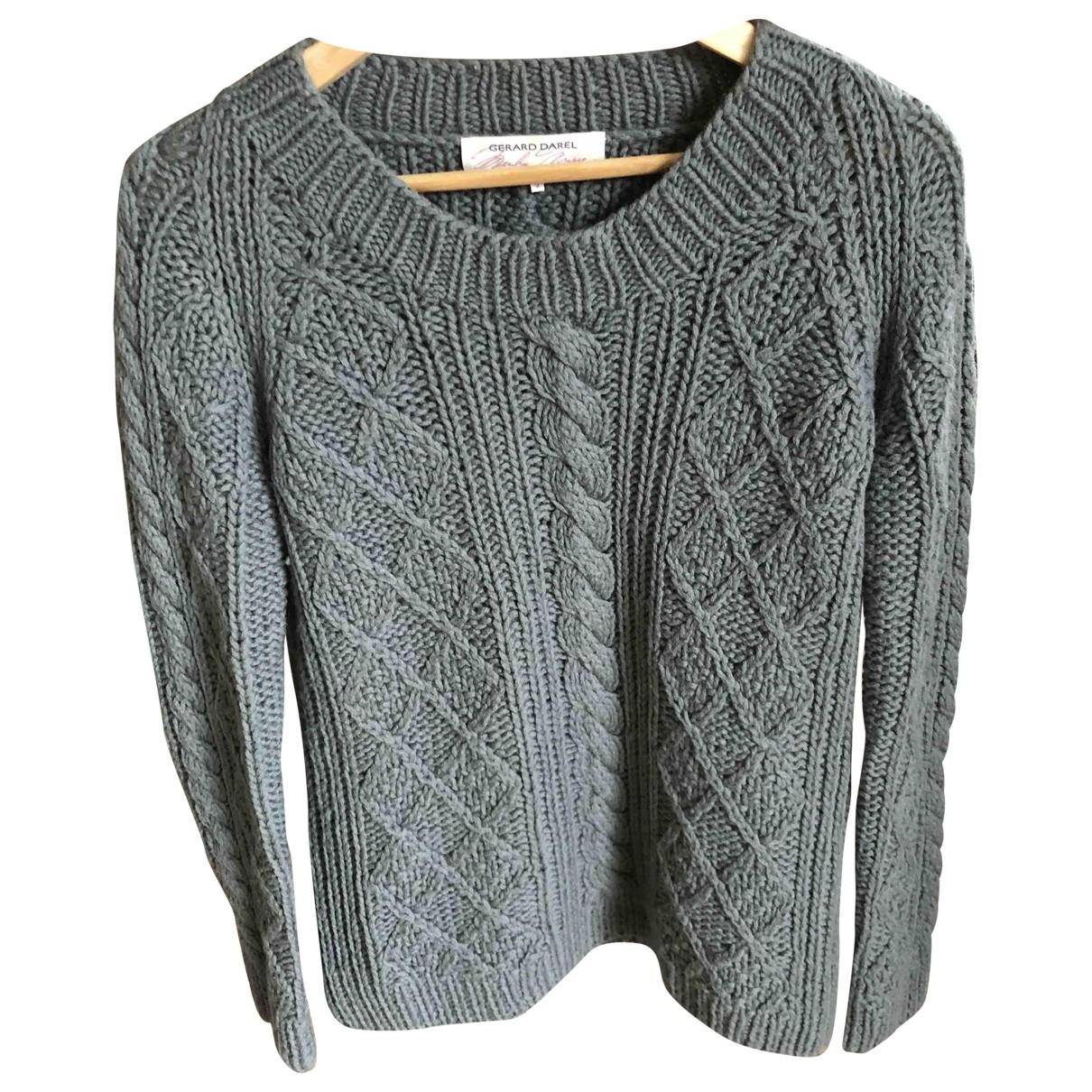 Gerard Darel - Pull   pour femme en laine - gris