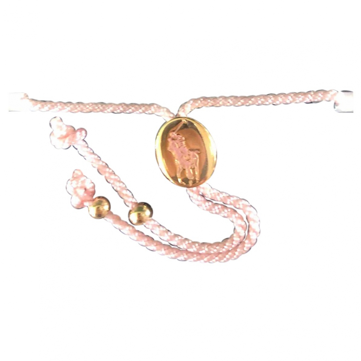 Polo Ralph Lauren - Bracelet   pour femme en metal - rose