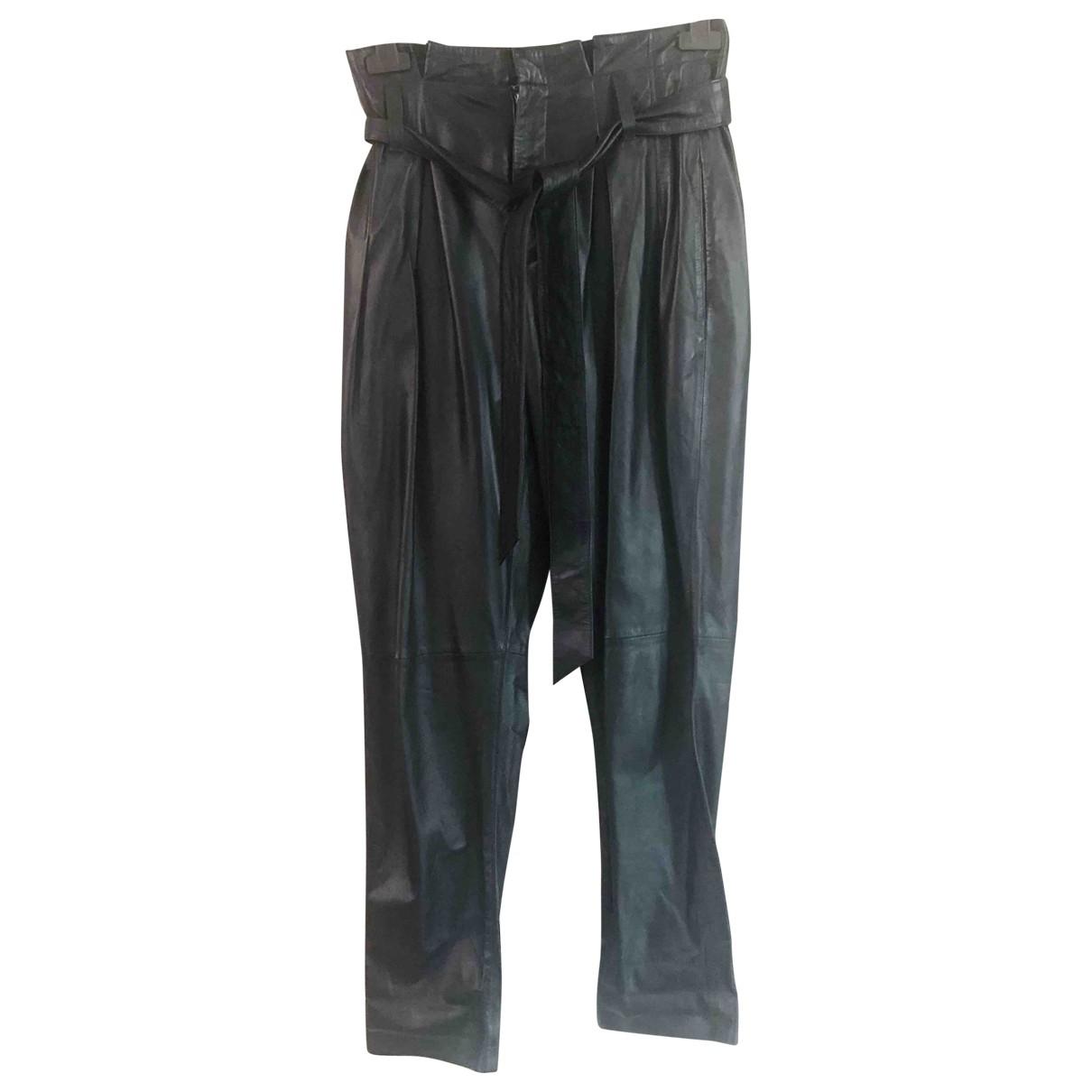 Pantalon de traje de Cuero Equipment