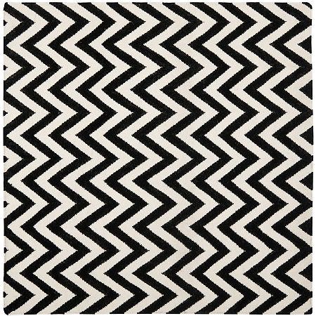 Safavieh Warwick Hand Woven Flat Weave Area Rug, One Size , Black