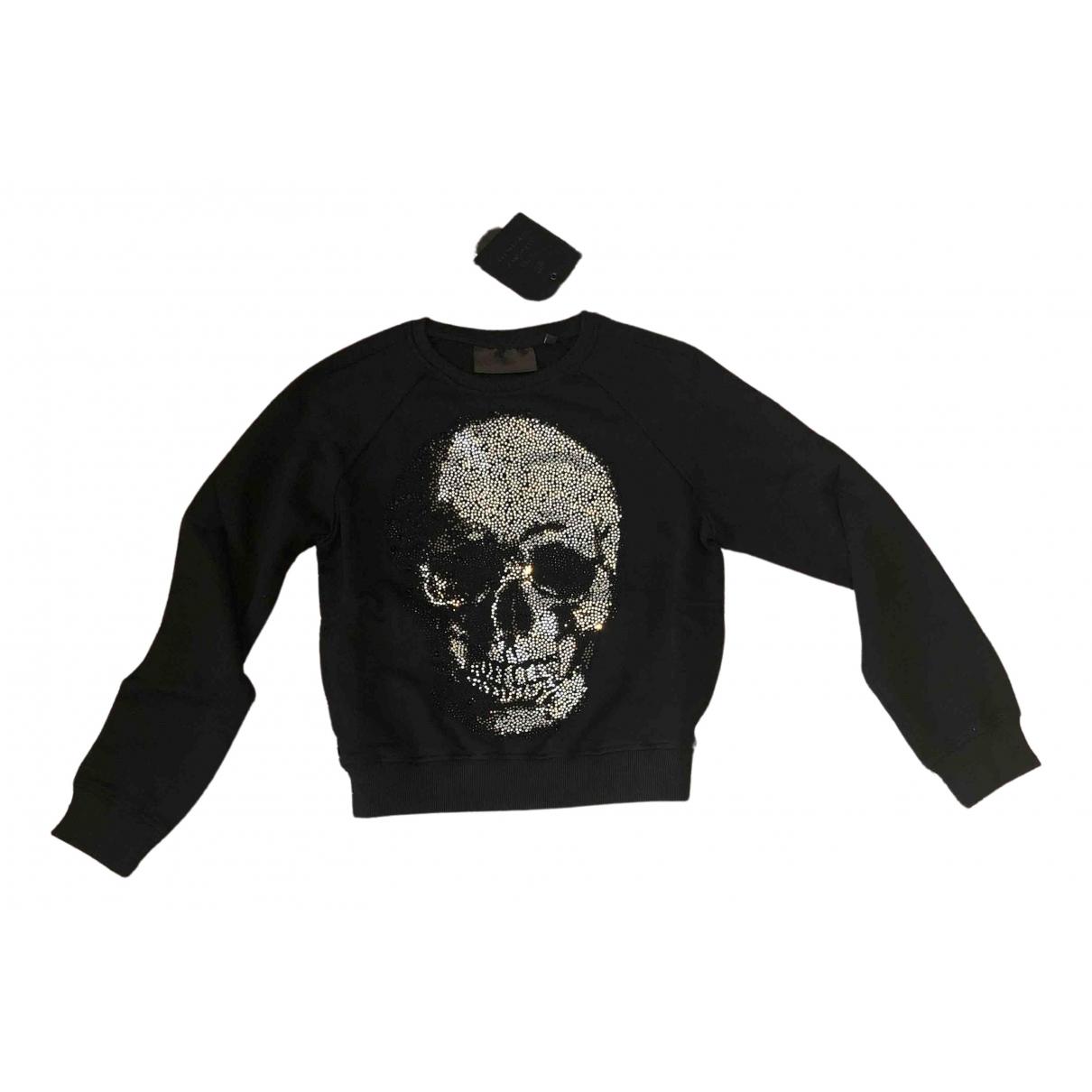 Philipp Plein N Black Cotton Knitwear for Women S International