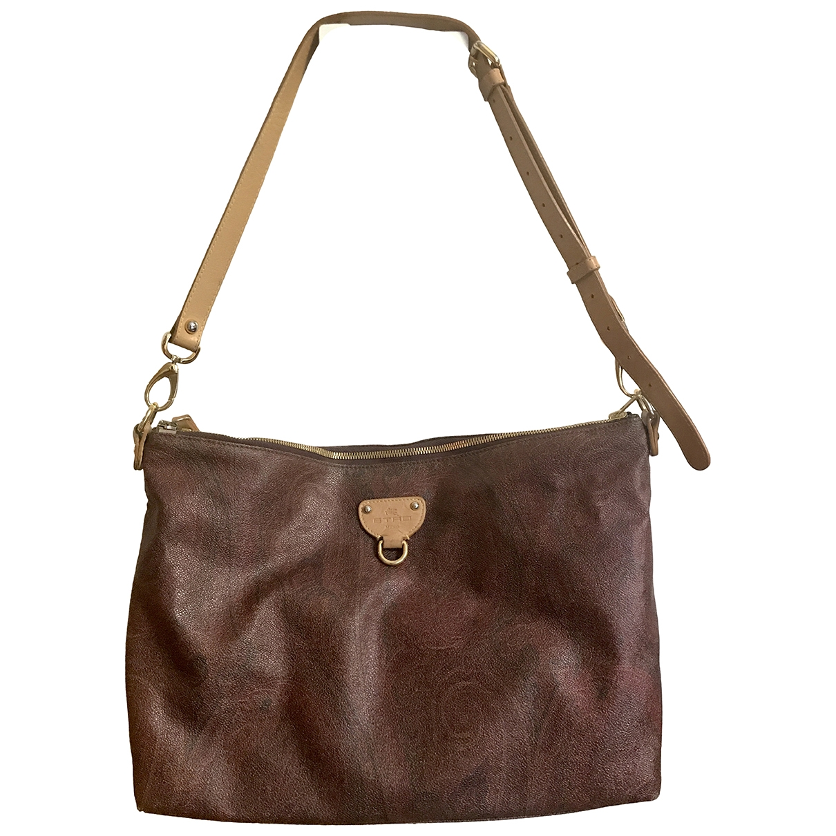 Etro \N Brown Leather handbag for Women \N