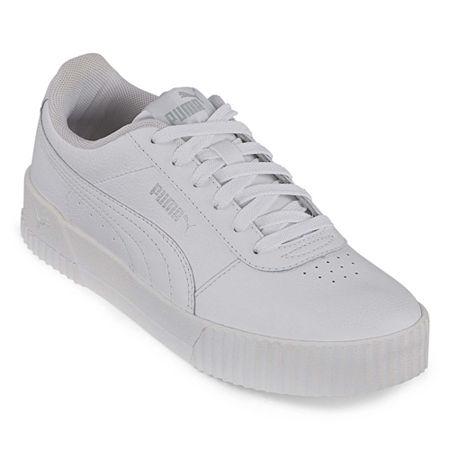 Puma Carina Womens Training Shoes, 9 1/2 Medium, White