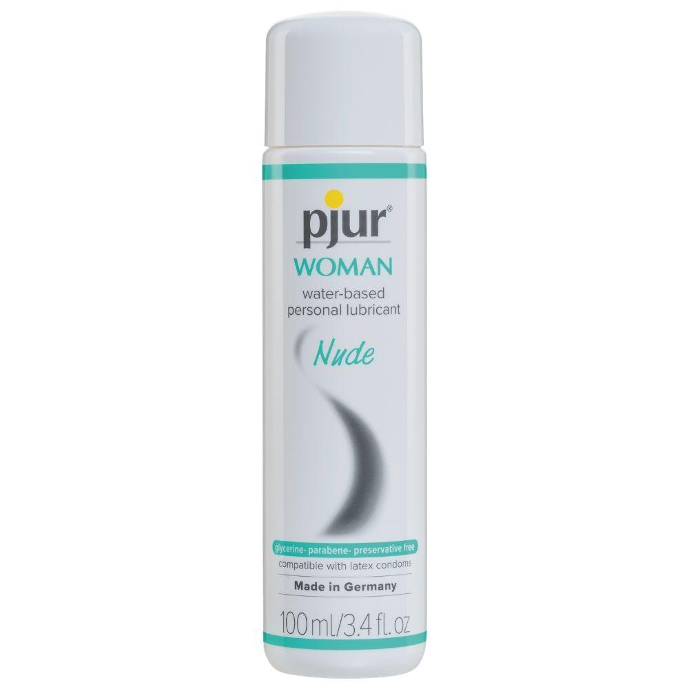Pjur WOMAN Nude Water-based Personal Lubricant 3.4 oz
