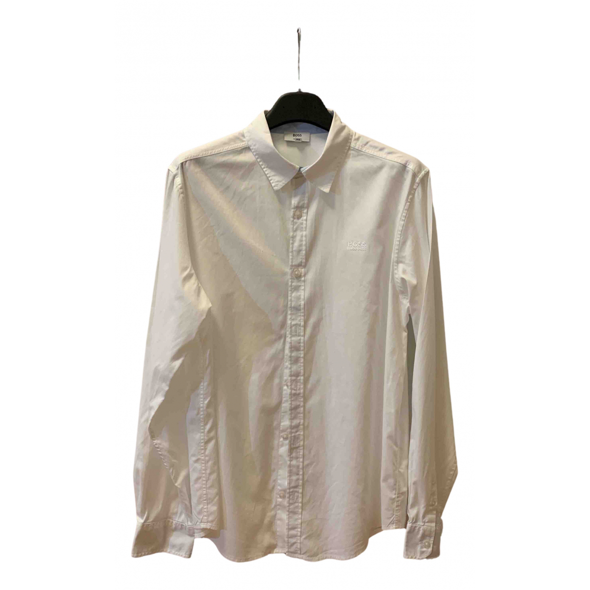 Boss N White Cotton  top for Kids 16 years - M UK