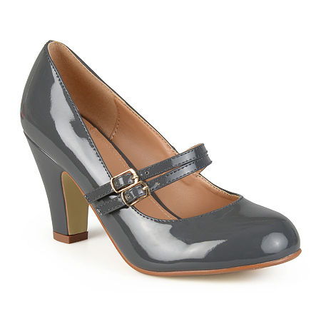 Journee Collection Womens Wendy Pumps, 7 Medium, Gray