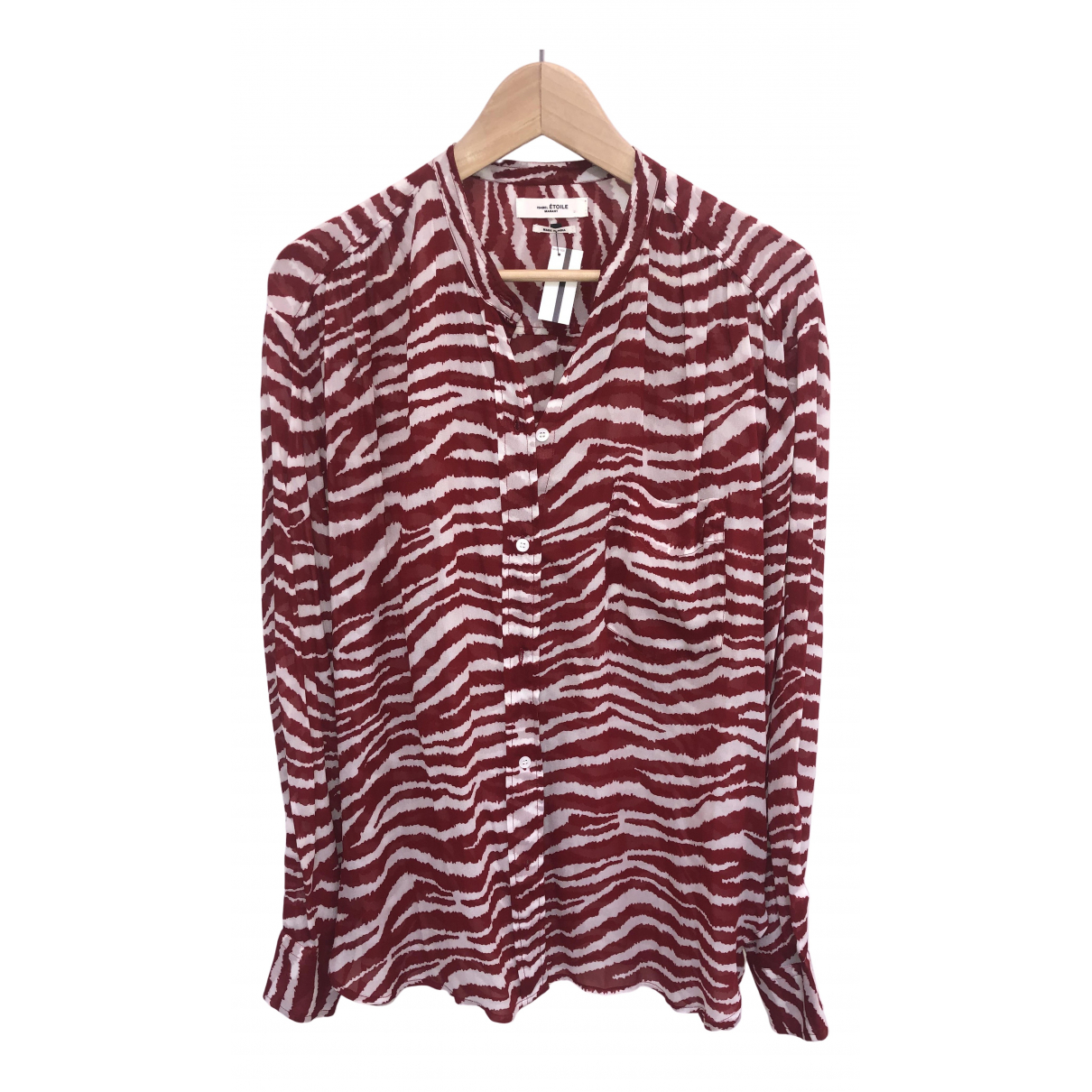 Isabel Marant N Red  top for Women 42 FR