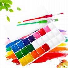 Multi-grid Art Paint Palette