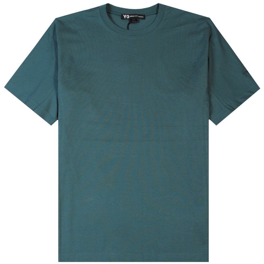 Y-3 Arm Logo T-Shirt Green Colour: GREEN, Size: EXTRA LARGE