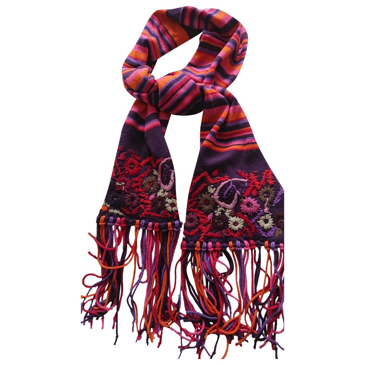 Christian Lacroix \N Multicolour Wool scarf for Women \N