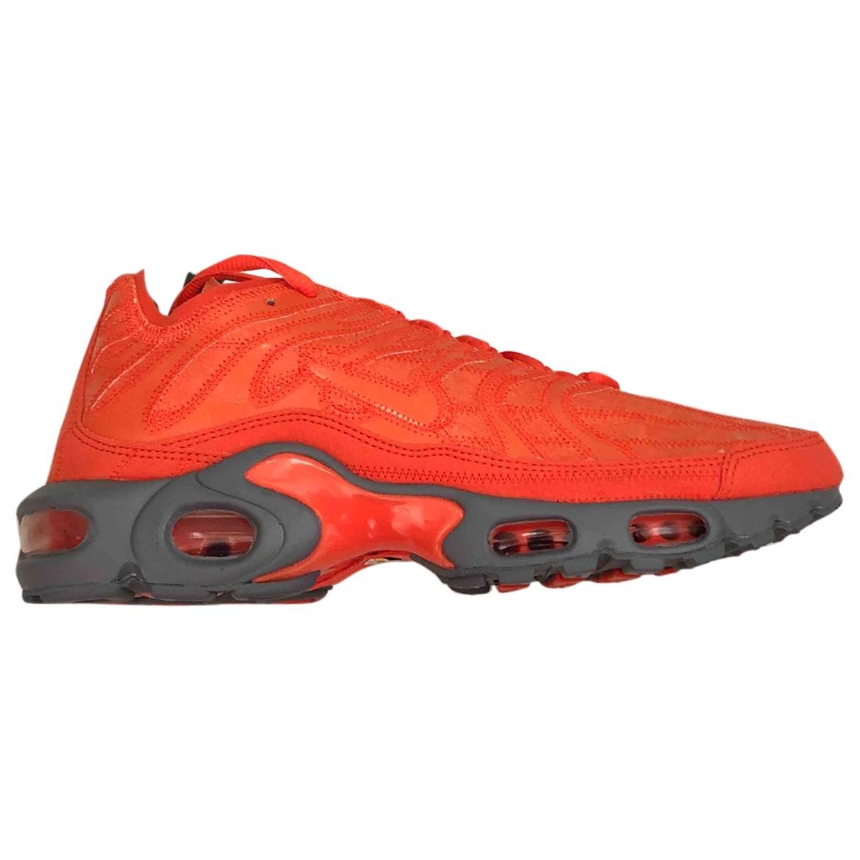 Nike - Baskets Air Max Plus  pour homme en toile - orange