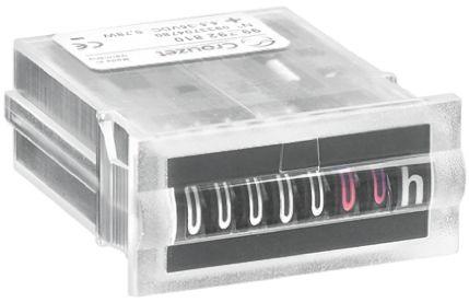Crouzet CHM15, 7 Digit, Mechanical, Counter, 35 V dc