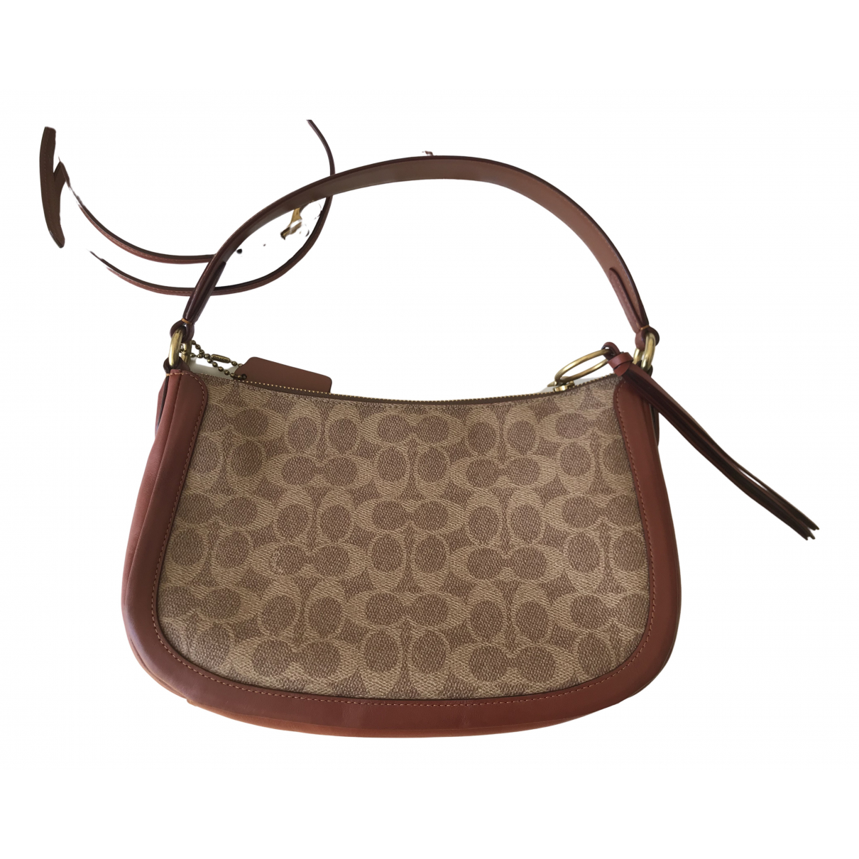 Coach \N Brown Leather handbag for Women \N