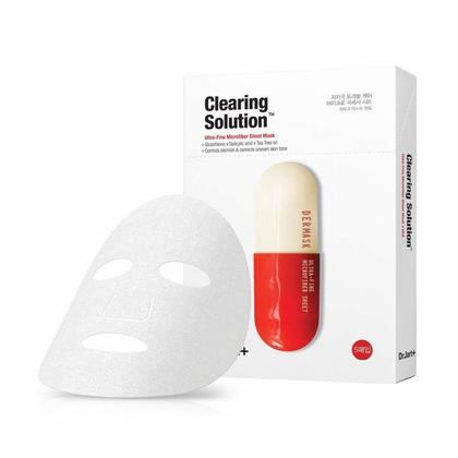 Dr.Jart+ Dermask Clearing Solution Ultra-Fine Microfiber Sheet Mask 5Pcs/Pack