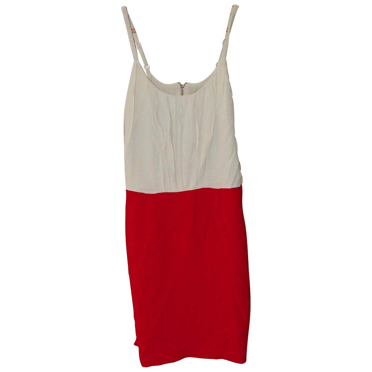 Sandro \N Kleid in  Orange Synthetik