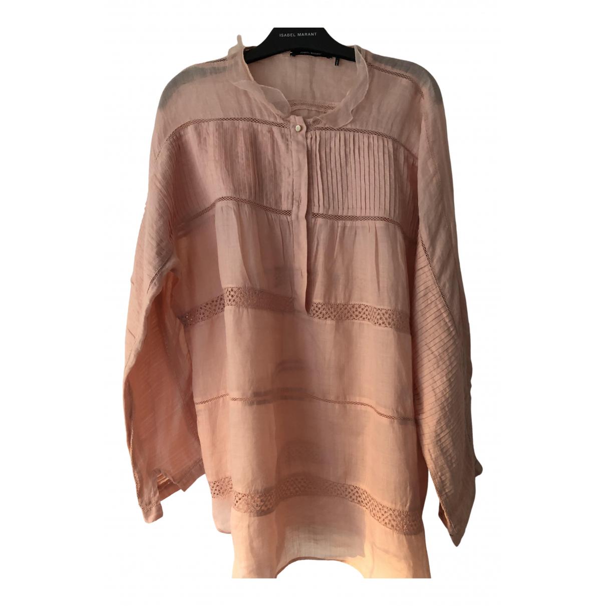 Isabel Marant - Top   pour femme en coton - rose