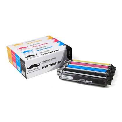 Compatible Brother HL-3150CDN Toner Cartridges Black, Cyan, Magenta & Yellow, High Yield