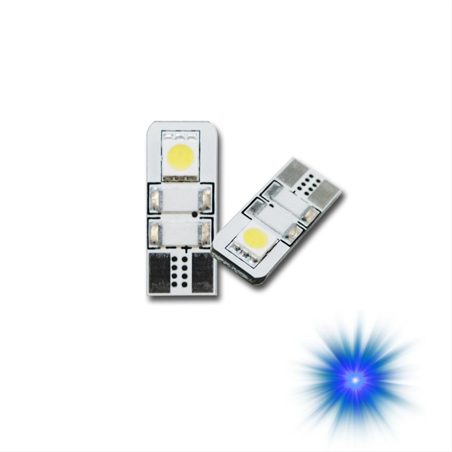 Oracle Lighting 4903-002 ORACLE T10 2 LED 3 Chip Flank Bulb (Pair) - Blue