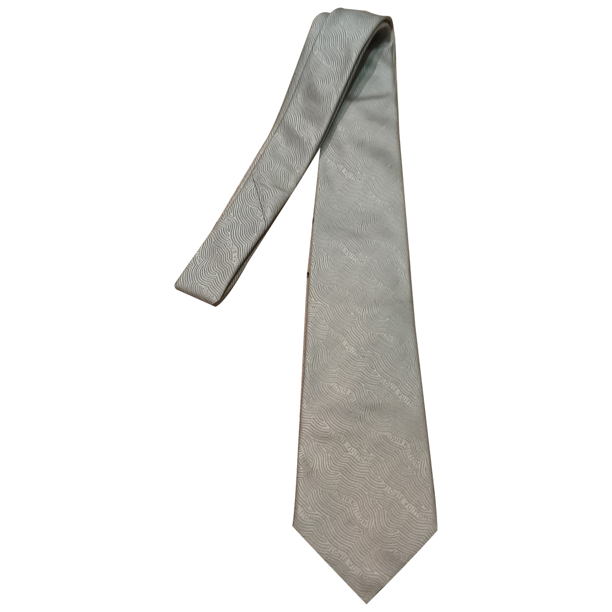 Corbata de Seda Louis Vuitton