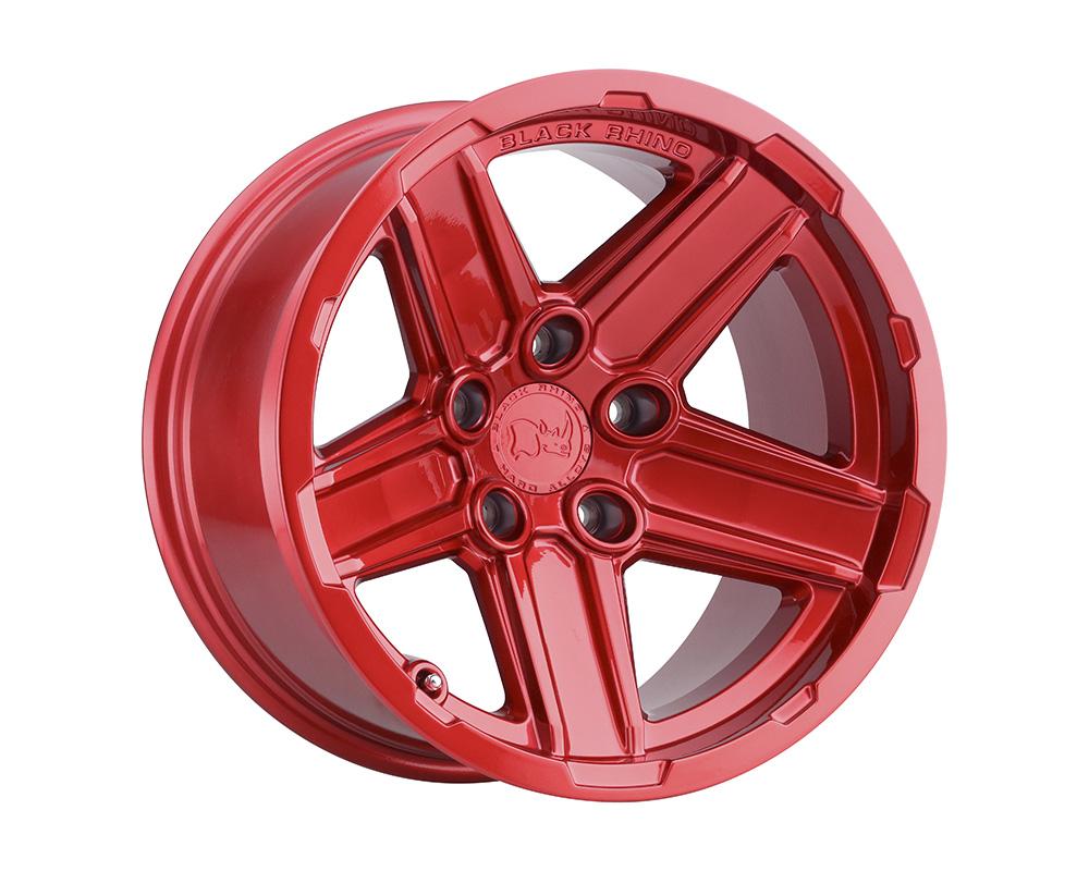 Black Rhino Recon Wheel 17x9.5  5x127 -32mm Candy Red