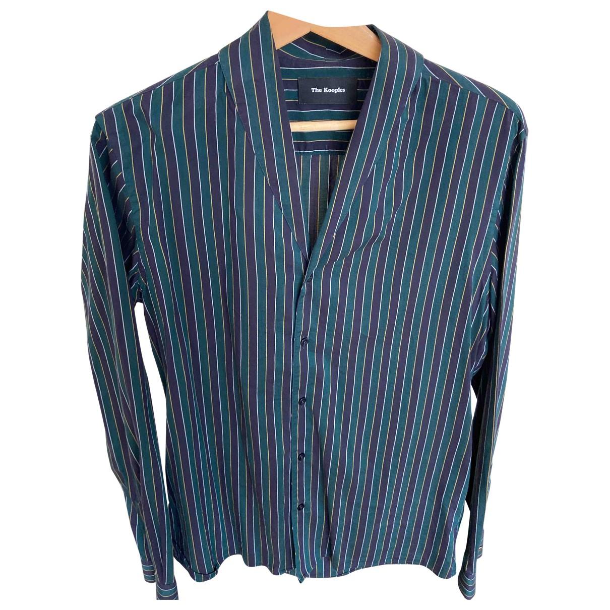 The Kooples - Chemises   pour homme en coton - multicolore