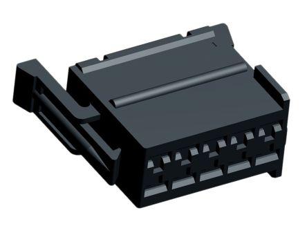 TE Connectivity , Junior Power Timer Automotive Connector Socket 2 Row 10 Way, Black (5)