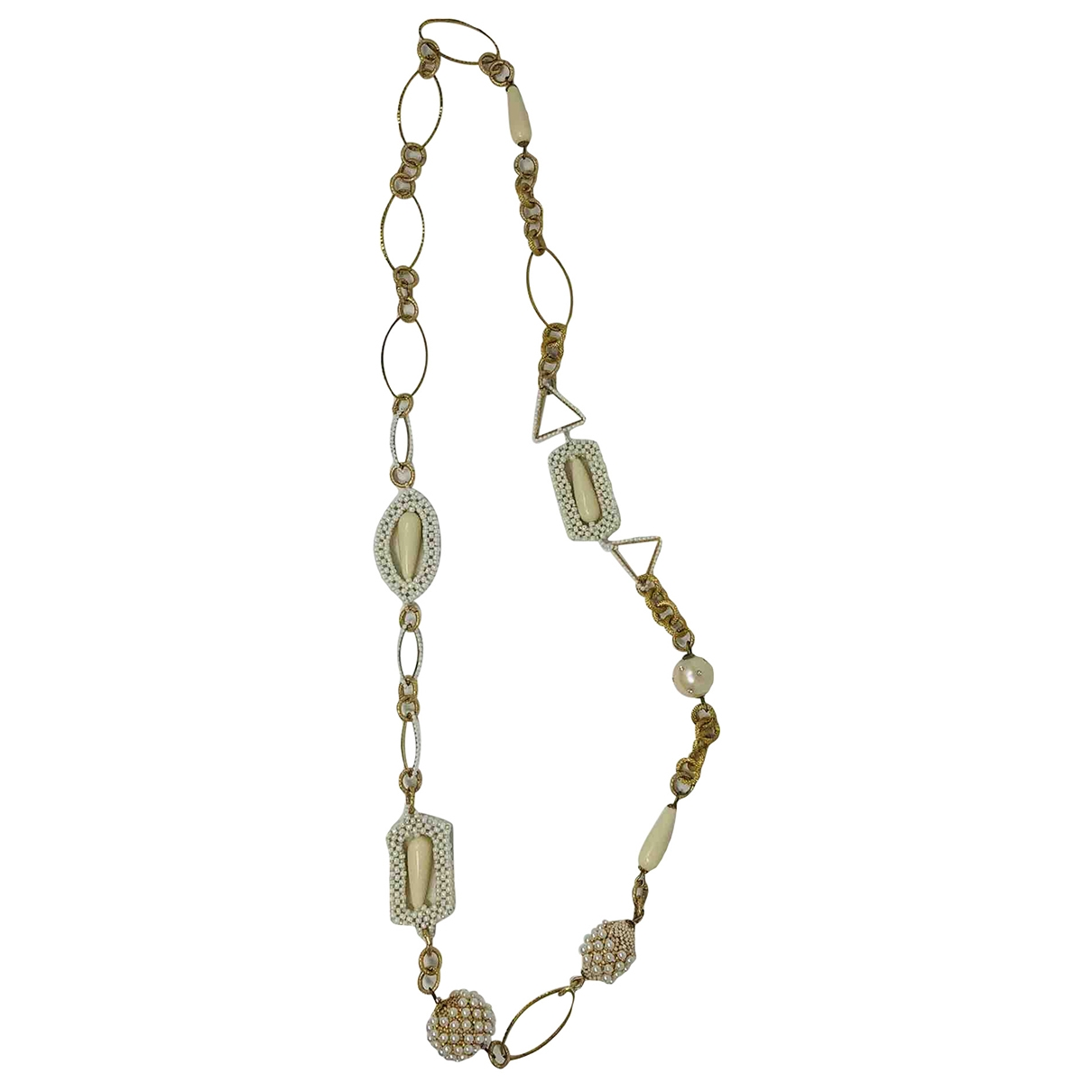 Collar largo Nacre Non Signe / Unsigned