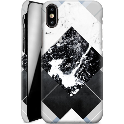 Apple iPhone X Smartphone Huelle - Geometric Textures 5 von Mareike Bohmer