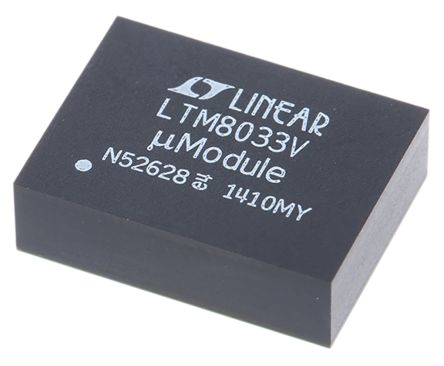 Analog Devices , LTM8033EV#PBF Switching Regulator, 1-Channel 3A Adjustable 76-Pin, LGA