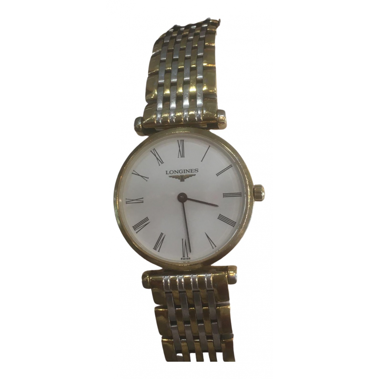 Longines \N Gold gold and steel watch for Women \N