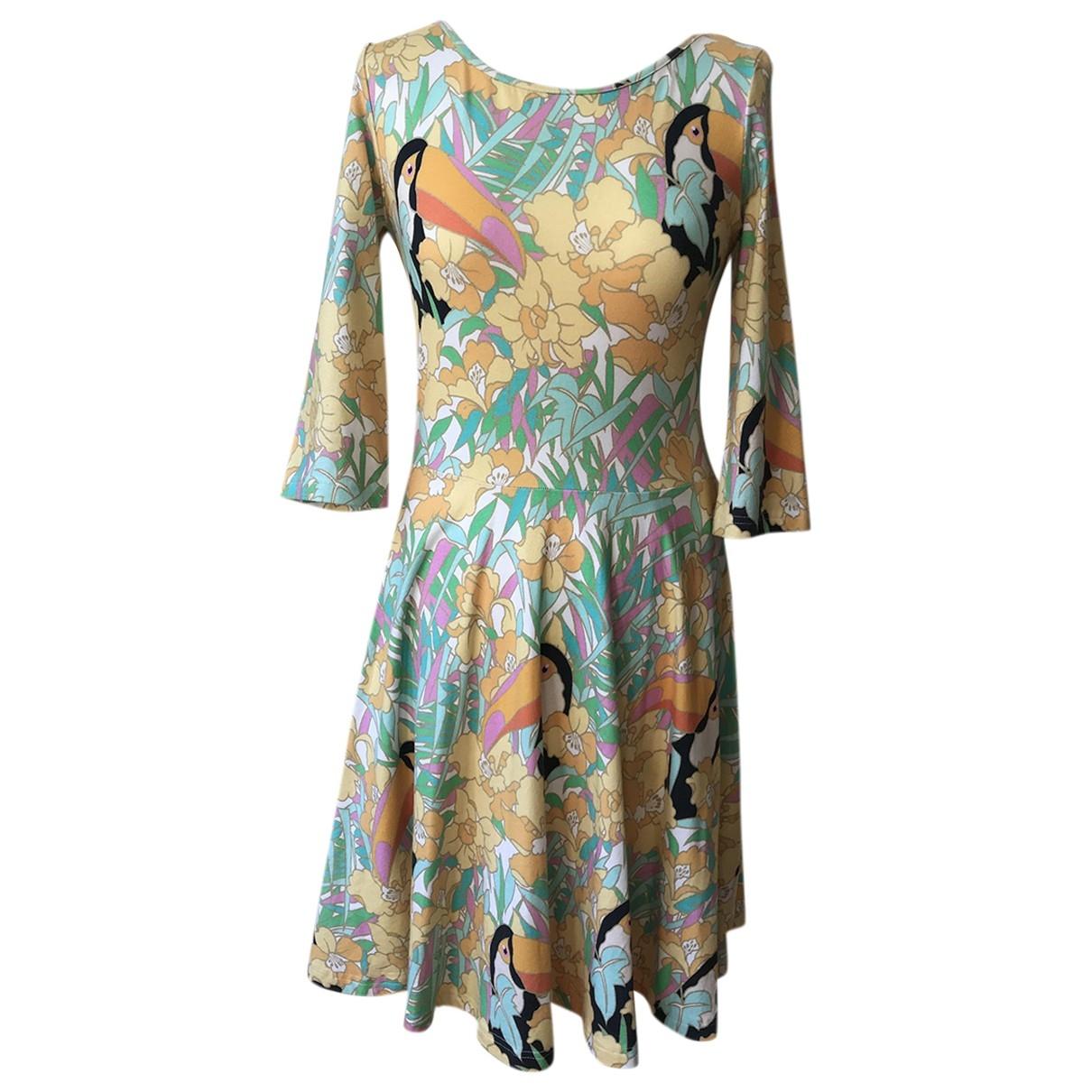 Manoush \N Multicolour Cotton - elasthane dress for Women 40 FR