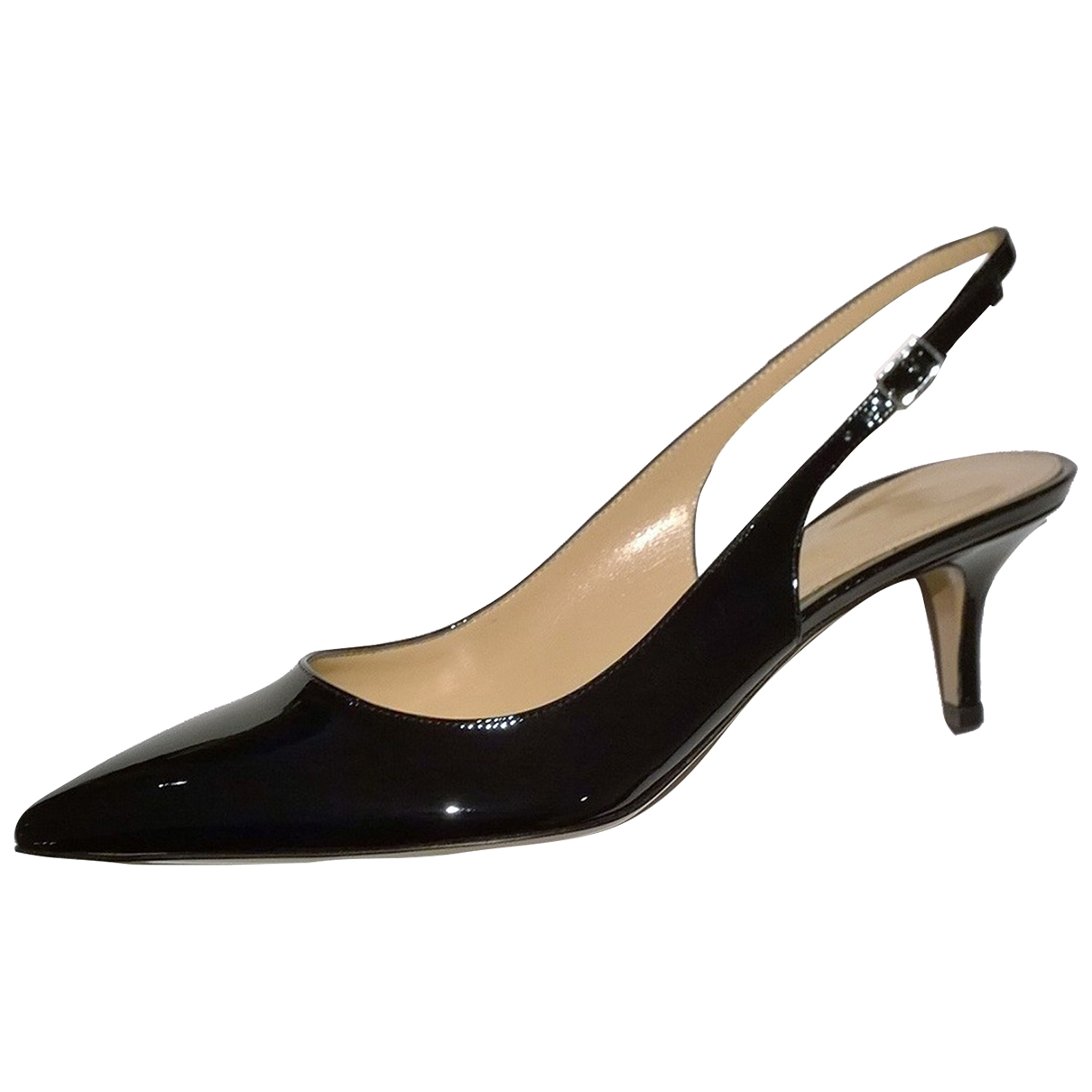 Gianvito Rossi \N Black Patent leather Heels for Women 39 IT