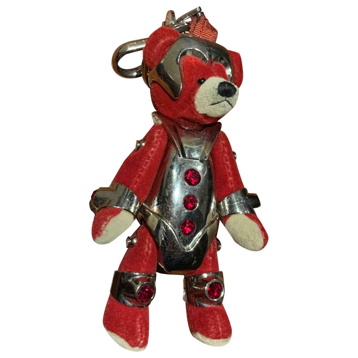 Prada \N Red Metal Bag charms for Women \N