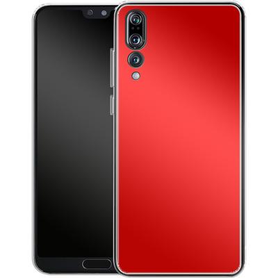 Huawei P20 Pro Silikon Handyhuelle - Test Red von caseable Designs