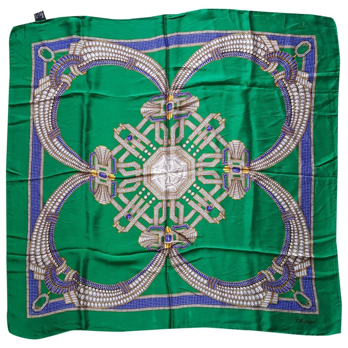 Chopard \N Green Silk Silk handkerchief for Women \N