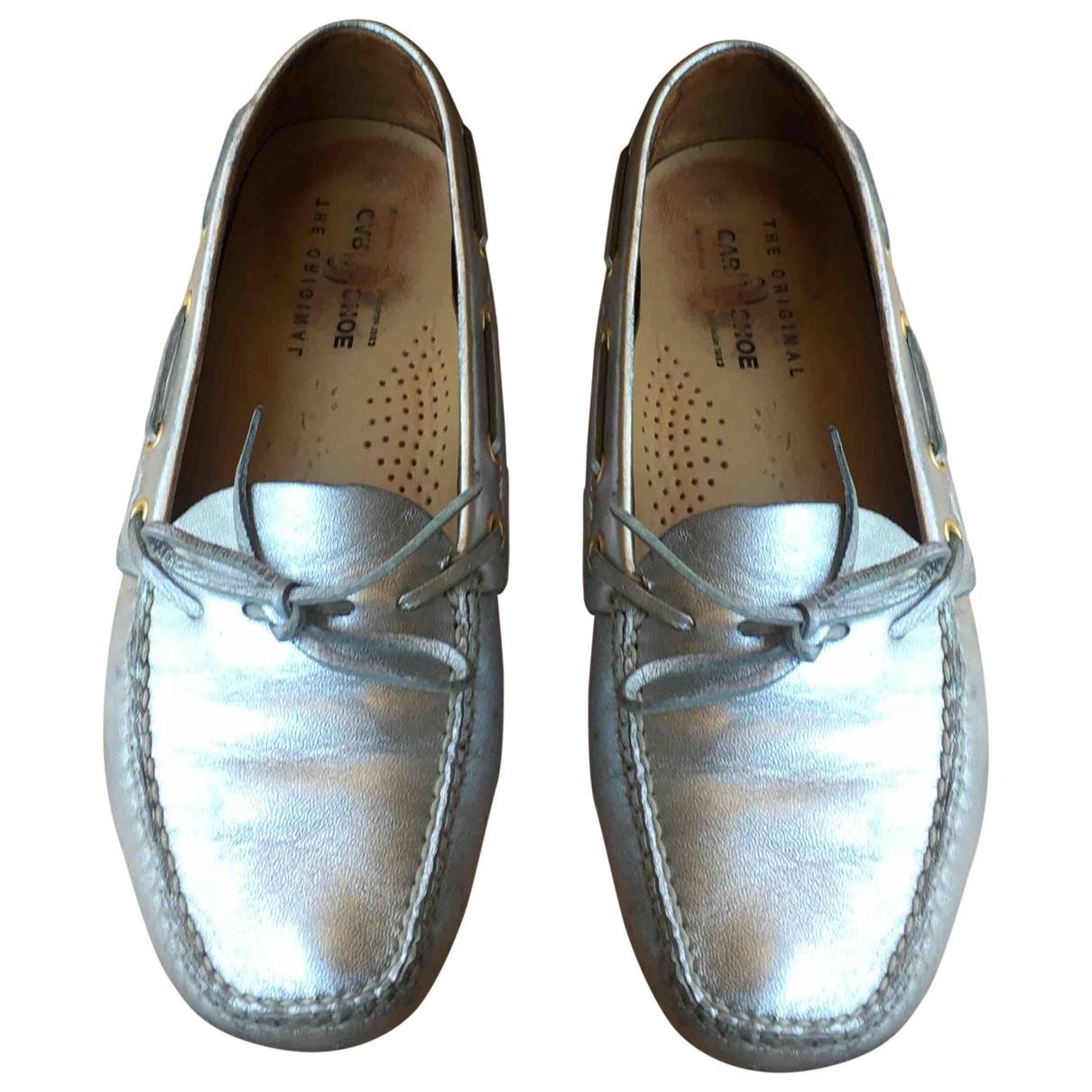 Carshoe \N Mokassins in  Silber Leder