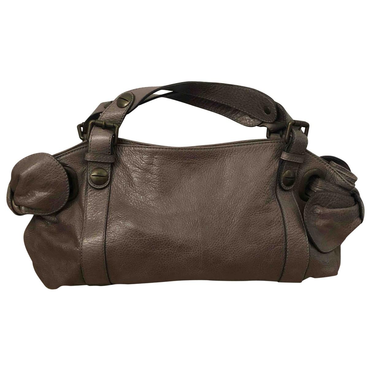 Gerard Darel \N Handtasche in  Beige Leder