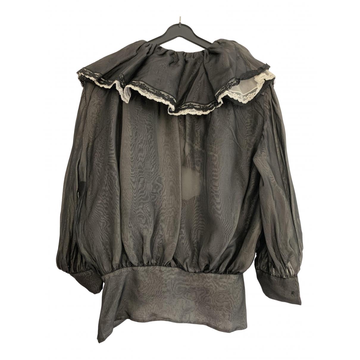 Blusa de Seda Dior