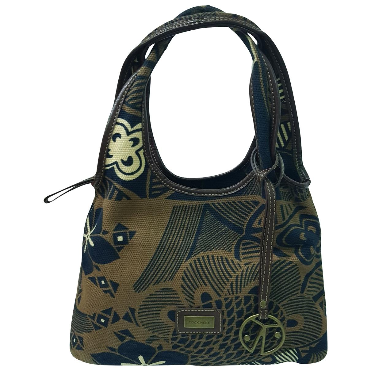 Coccinelle \N Green Cloth handbag for Women \N