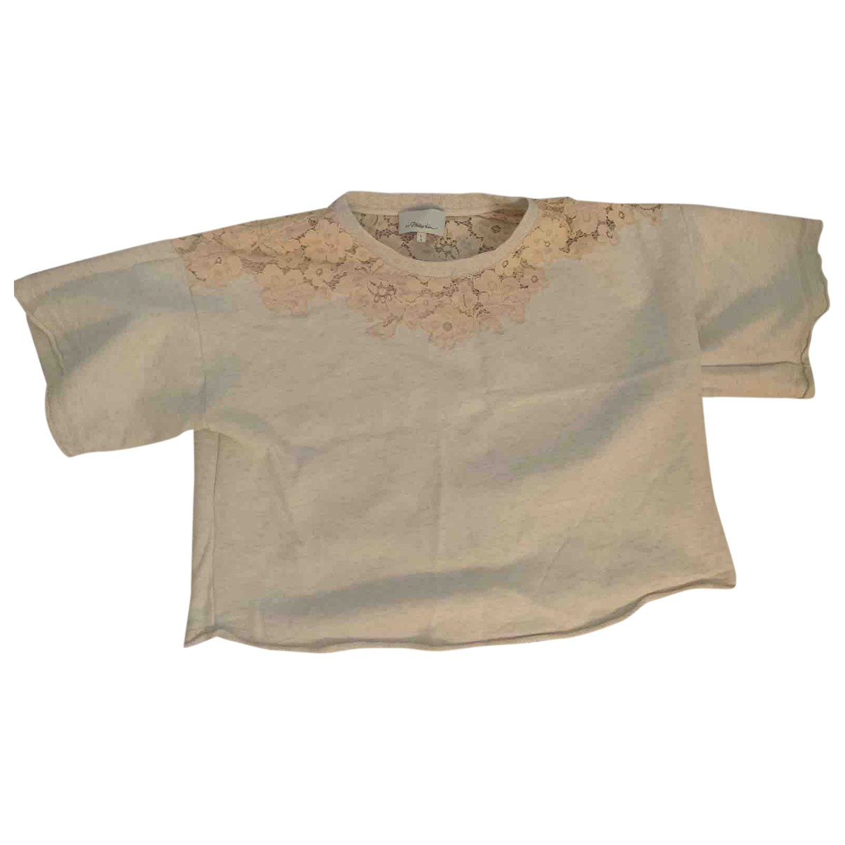 3.1 Phillip Lim - Top   pour femme en coton - beige